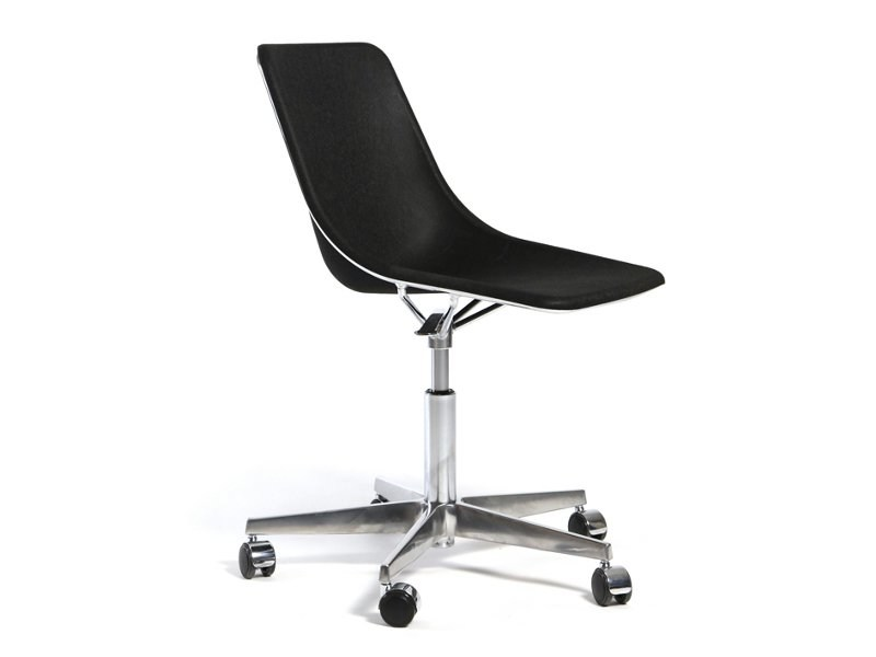 Chair with 5-spoke base with casters KOLA | Chair with 5-spoke base - Inno Interior Oy