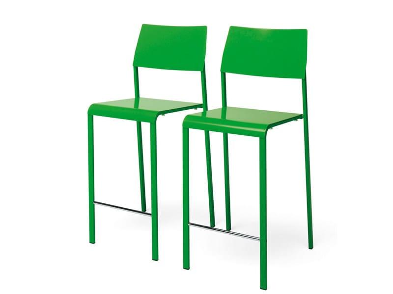 Stackable metal stool MARGHERITA | Stool - YDF