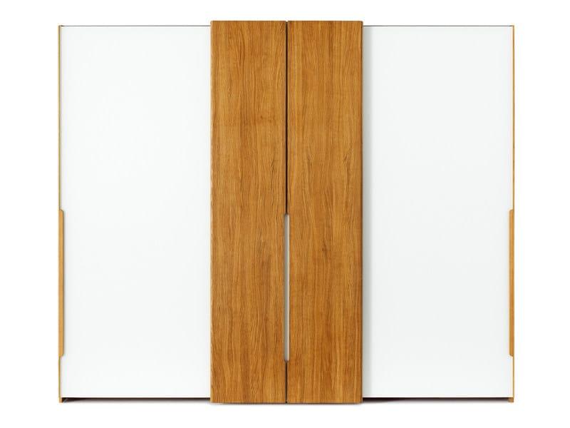Wardrobe with sliding doors NOX | Wardrobe - TEAM 7 Natürlich Wohnen