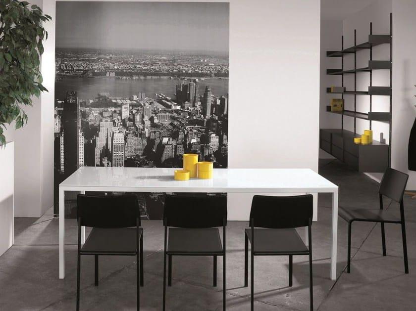 Rectangular custom table ERNESTO ICE | Rectangular table - YDF
