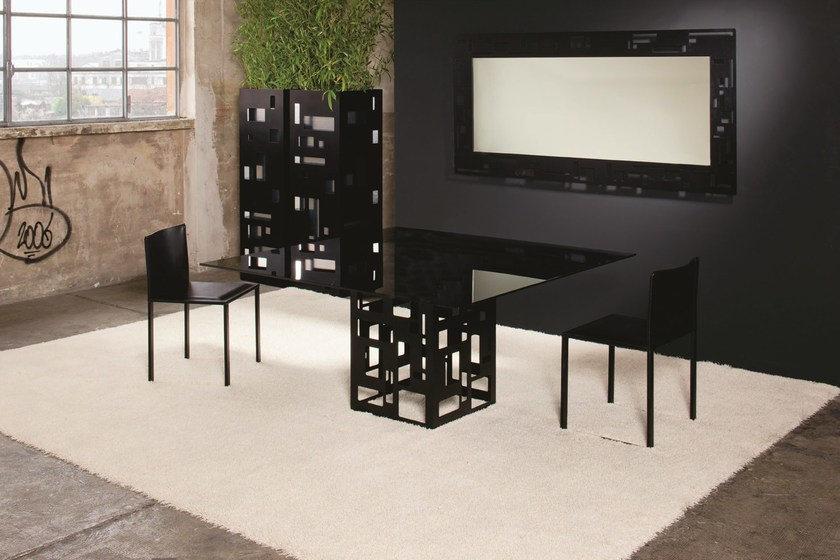 Square custom table VELASCA | Square table by YDF