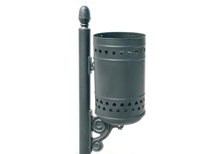 Portarifiuti in acciaio per esterni by calzolari for Calzolari arredo urbano