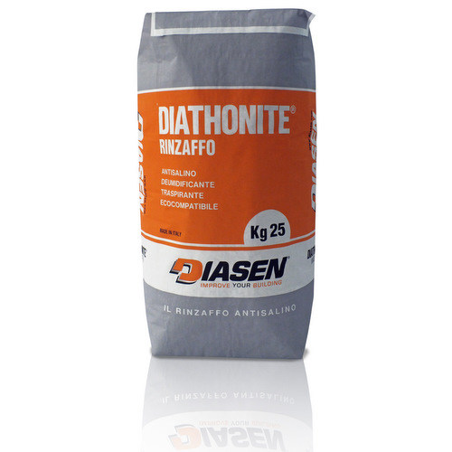Renovating and de-humidifying additive and plaster DIATHONITE RINZAFFO - DIASEN