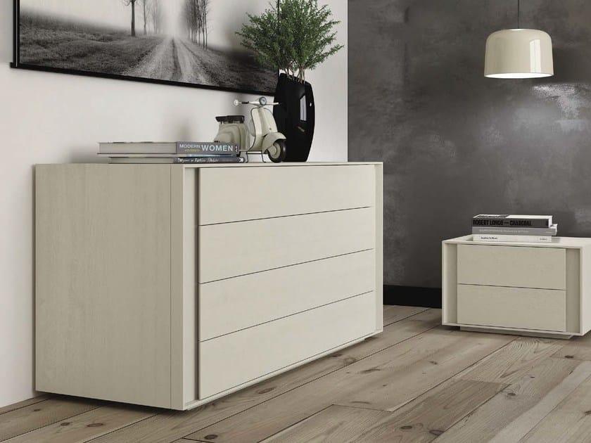 Wooden dresser BERLINO - Domus Arte