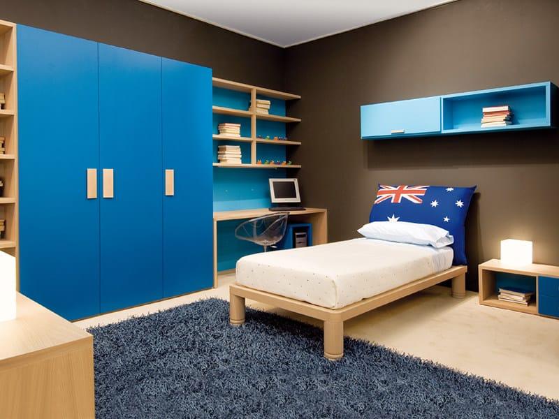 Solid wood single bed 6001 | Bed - dearkids