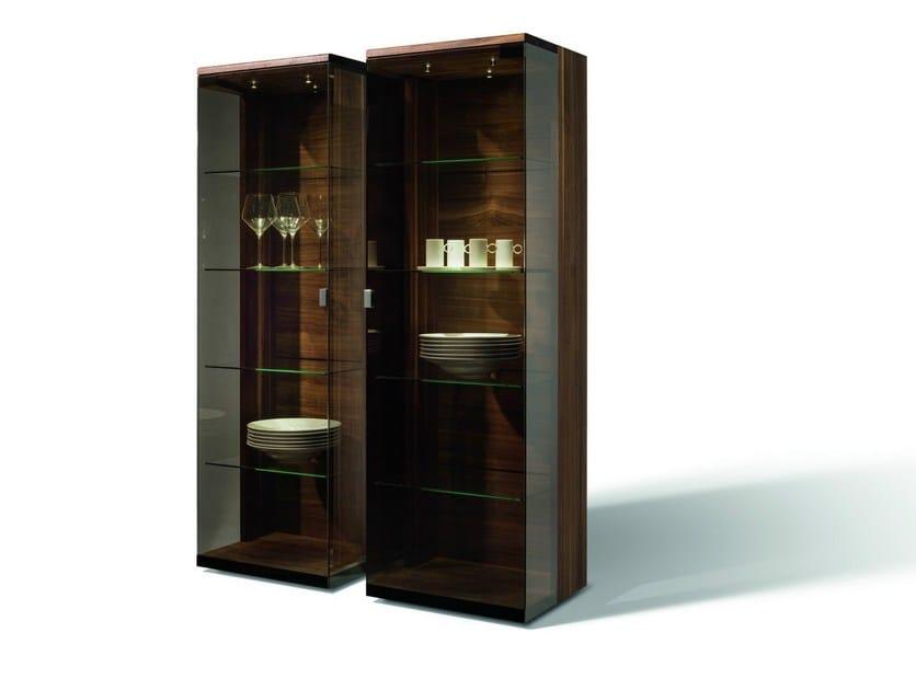 Wooden display cabinet NOX | Display cabinet by TEAM 7