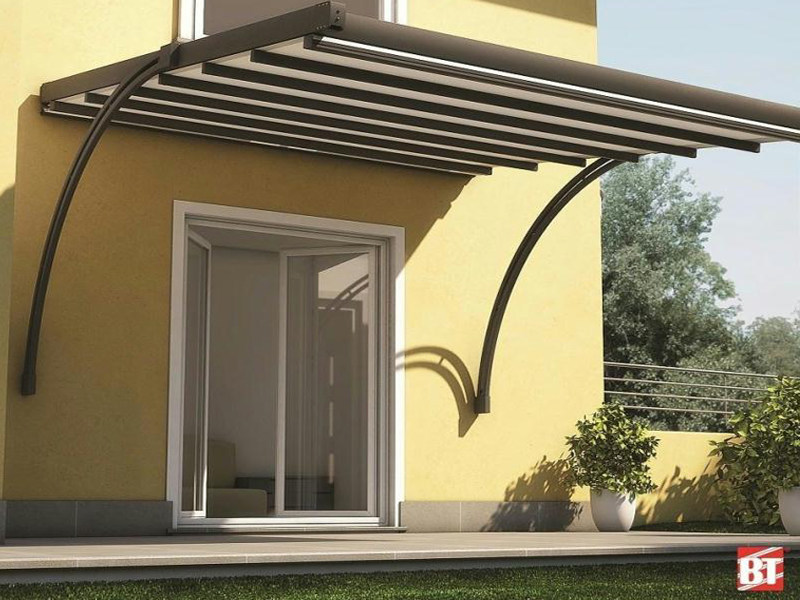 Aluminium door canopy ARCO PER R125 PERGOTESA - BT Group