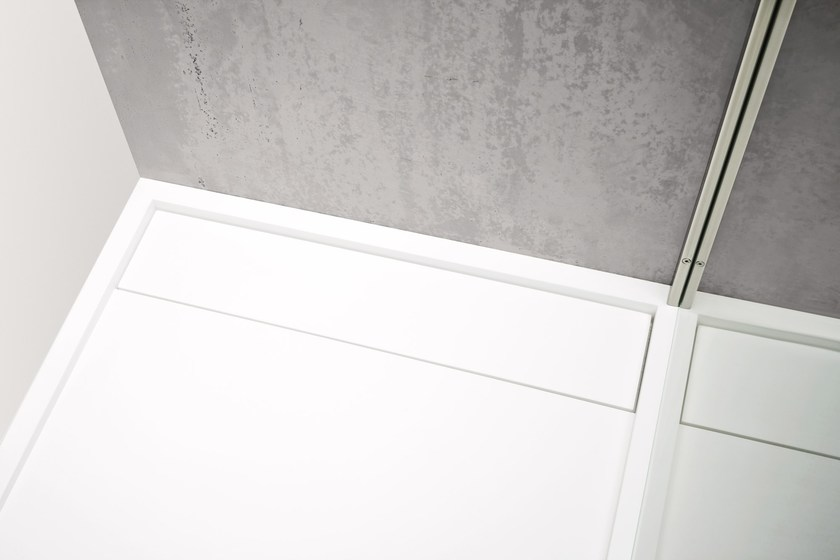 Rectangular Korakril™ shower tray ARGO | Shower tray - Rexa Design