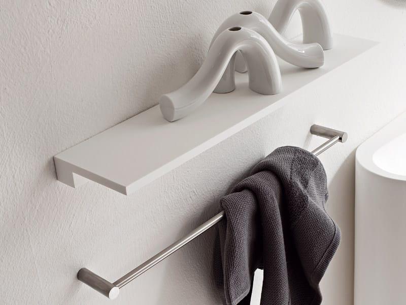 Towel rack / bathroom wall shelf MINIMAL   Bathroom wall shelf by Rexa Design