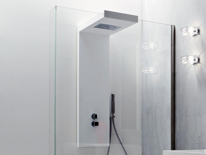 Korakril™ shower column with hand shower ARGO | Shower panel - Rexa Design