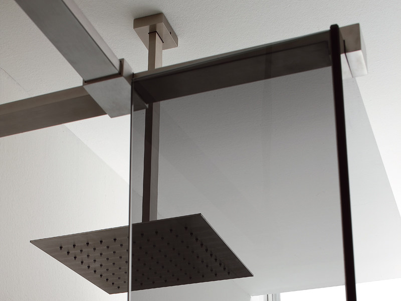 Ceiling mounted overhead shower with arm LEVA | Ceiling mounted overhead shower - Rexa Design