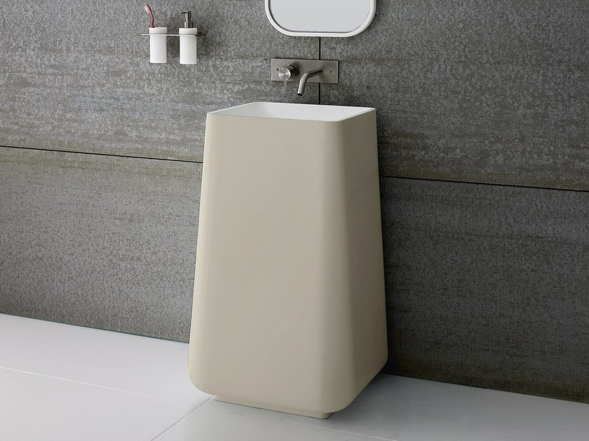 Freestanding Korakril™ washbasin OPUS | Freestanding washbasin - Rexa Design