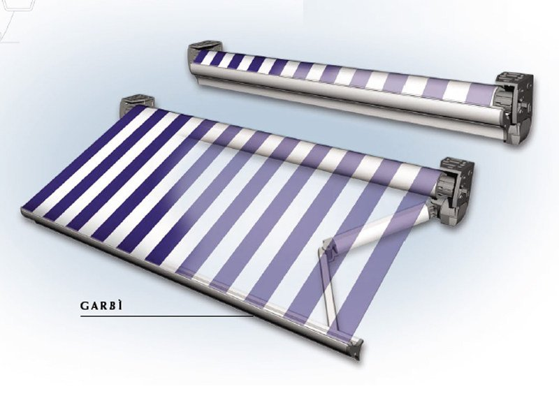 Folding arm awning GARBI' by BT Group
