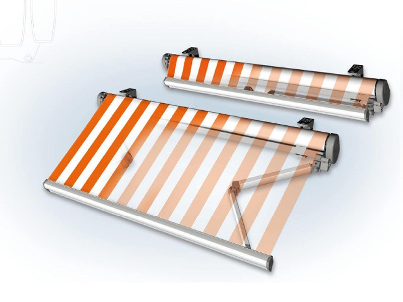 Folding arm awning SIROCO - BT Group