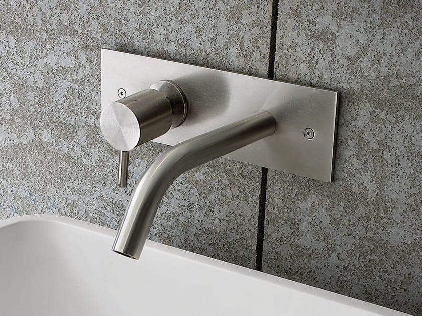 Miscelatore per lavabo a muro cromo BREZZA  Miscelatore ...