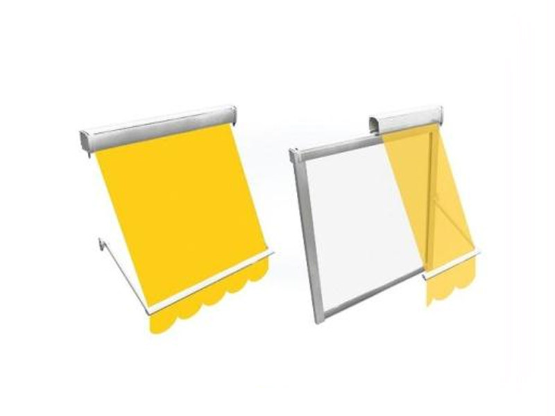 Box roller blind with arms T31 SPRING - BT Group