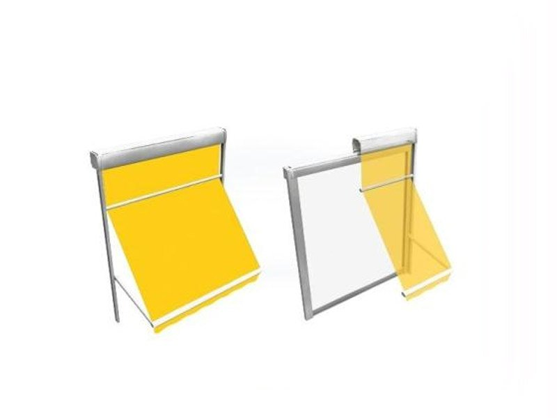 Box roller blind with arms T41 SPRING - BT Group