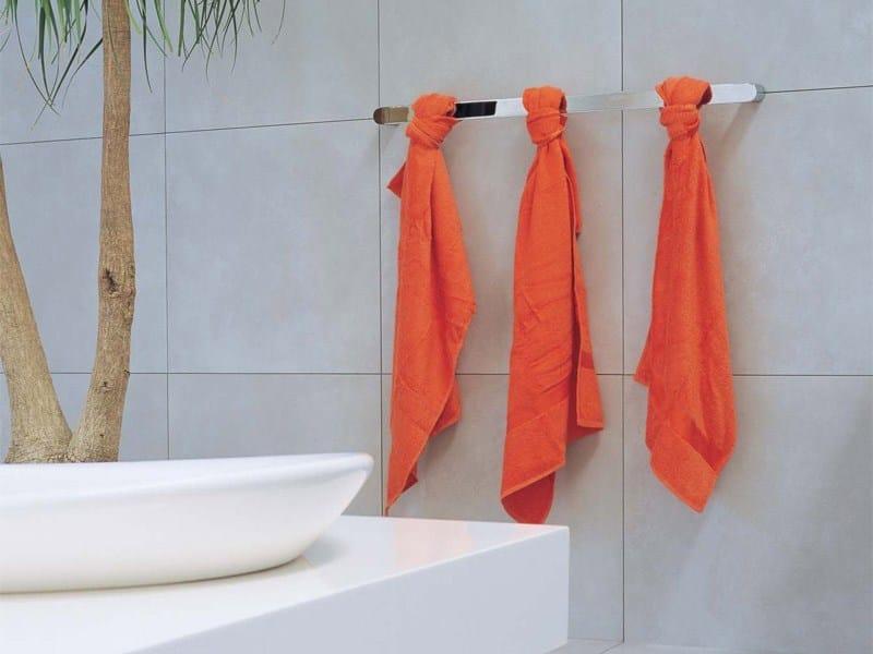 Porta asciugamani a barra in metallo cromato two porta - Galvan mobili bagno ...