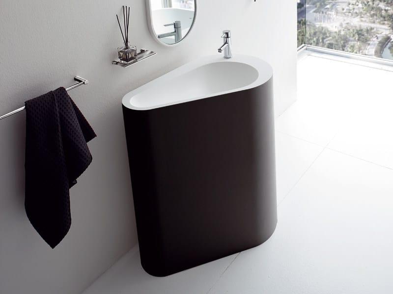 Freestanding Korakril™ washbasin BOMA | Freestanding washbasin - Rexa Design