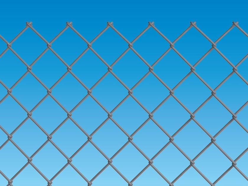 Electrically welded mesh Fence IDEAL ZINC by Ferro Bulloni