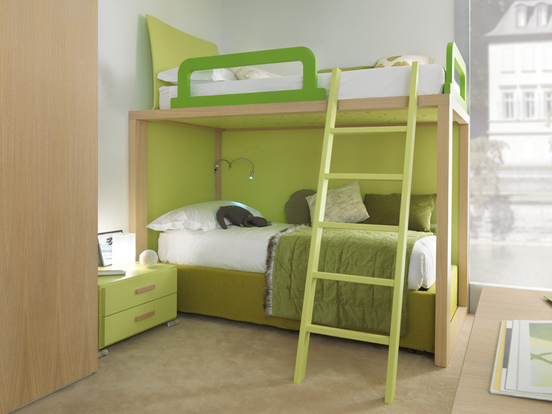 Solid wood bunk bed 9007 | Bed - dearkids