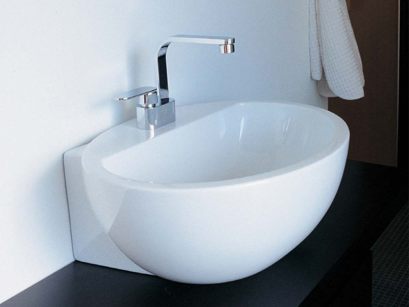 Countertop ceramic washbasin DIP - CERAMICA FLAMINIA