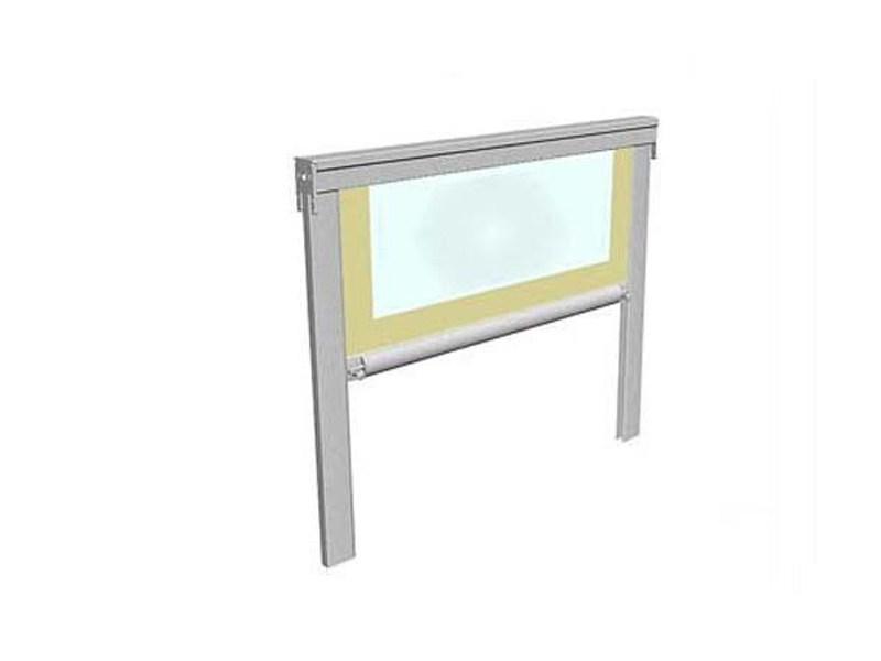 Box roller blind with guide system CUBO - BT Group