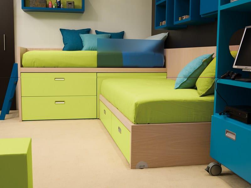 Wooden bed 7006 | Bed - dearkids