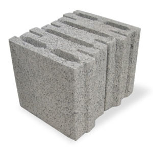 Thermal insulating concrete block BLOCVER by M.v.b.
