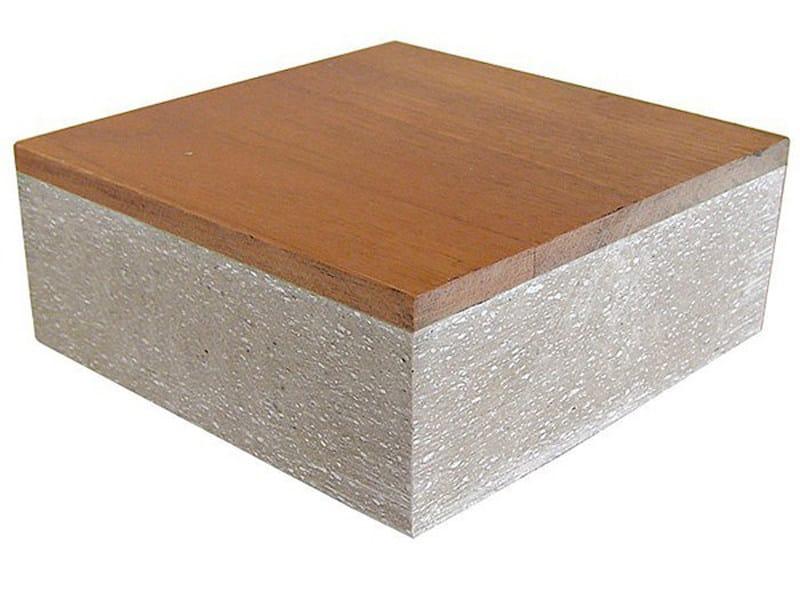Calcium sulphate panel for raised flooring ANIMA | Calcium sulphate PG3 - Transpack Group Service