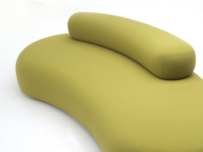 Upholstered garden sofa BUBBLE ROCK   Garden sofa - Living Divani