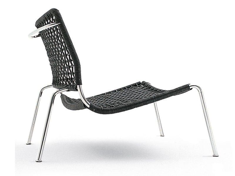 Steel and PVC garden armchair FROG | Garden armchair - Living Divani