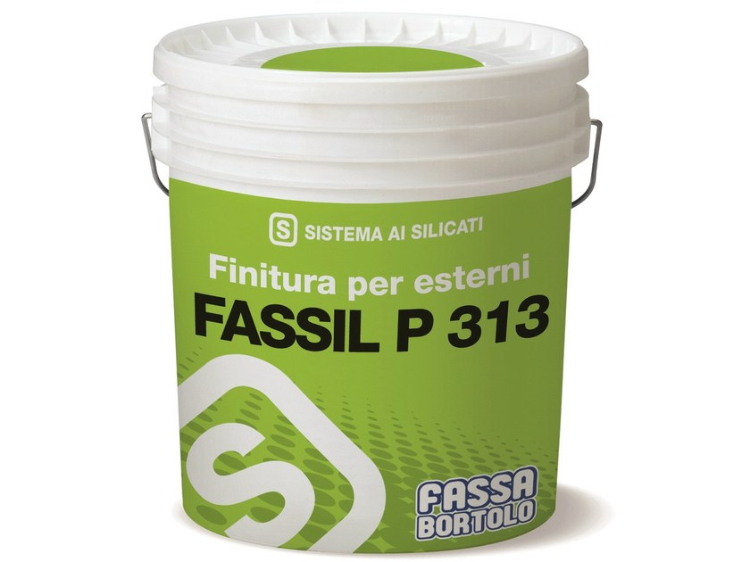 Silicate paint FASSIL P 313 by FASSA