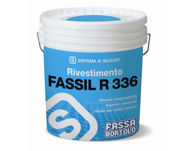 Silicate paint FASSIL R 336 - FASSA