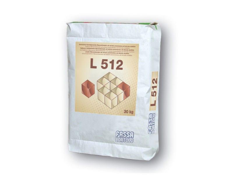 Masonry consolidation L 512 - FASSA