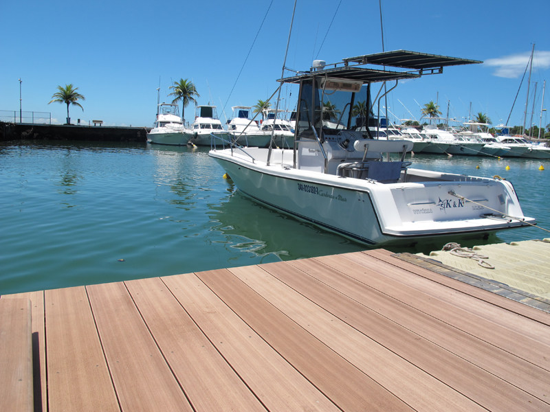 WPC decking plus profile 200x38 - plasticWOOD.it