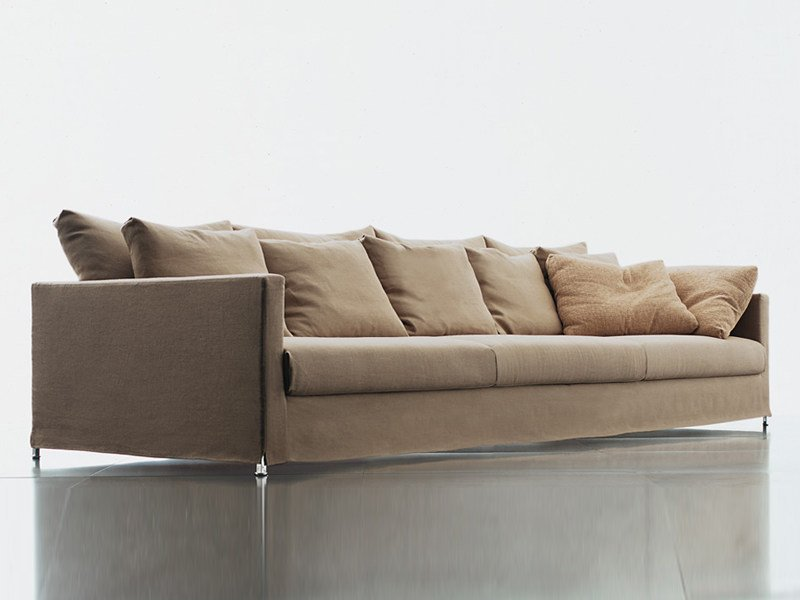 Sofa with removable cover BOX LOUNGE - Living Divani