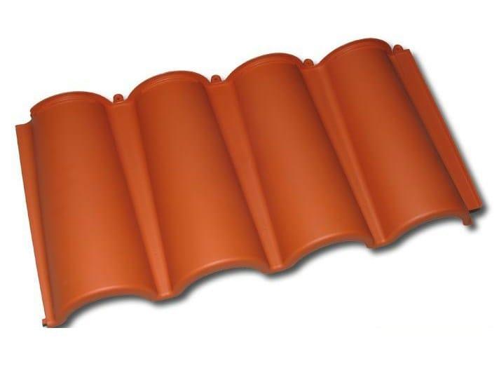 Synthetic material roof tile BriCoppo - BriCoppo Skylight - TECNO IMAC