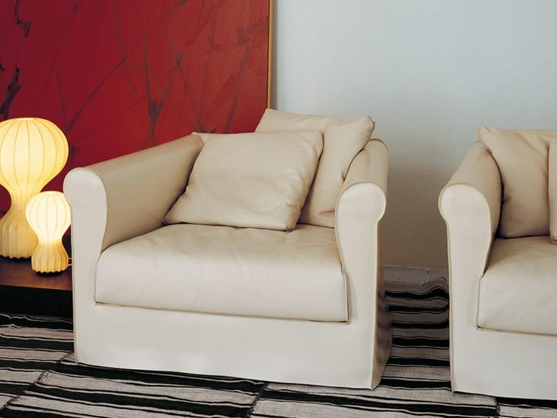 Armchair with armrests DORIAN | Armchair - Living Divani