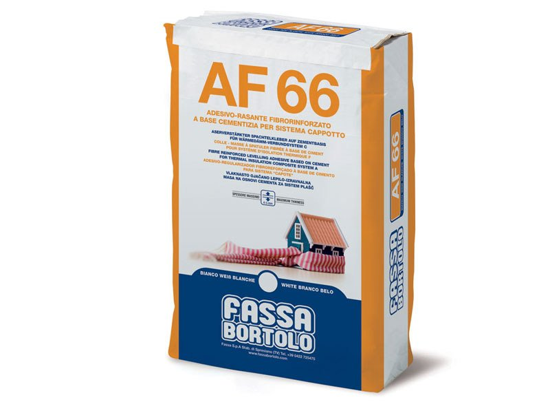 Special fixing for insulation AF 66 - FASSA