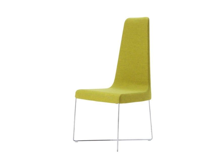 Upholstered high-back chair SO - ROSET ITALIA