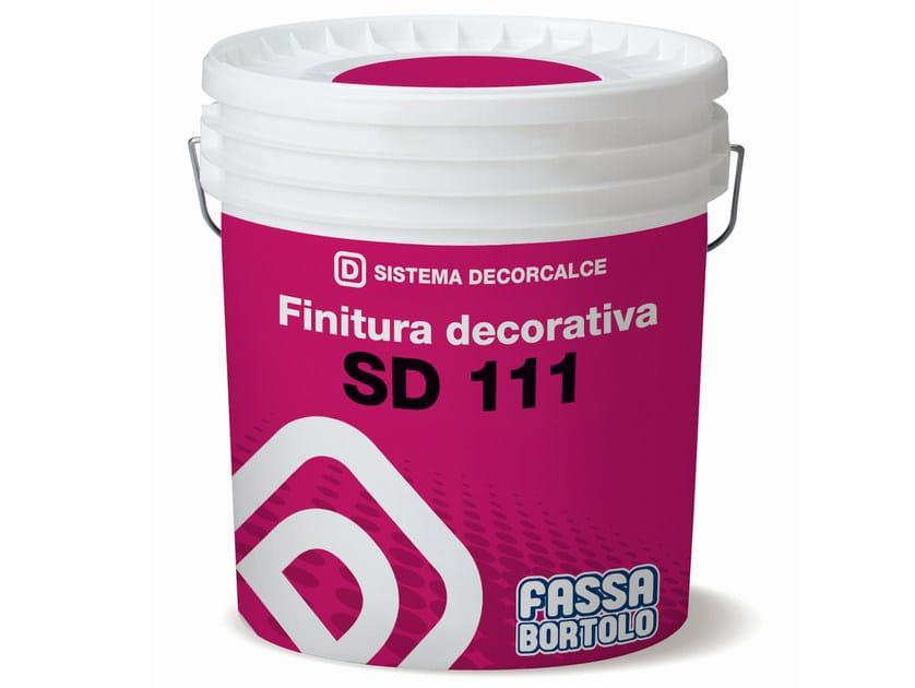 Gypsum and decorative plaster SD 111 - FASSA