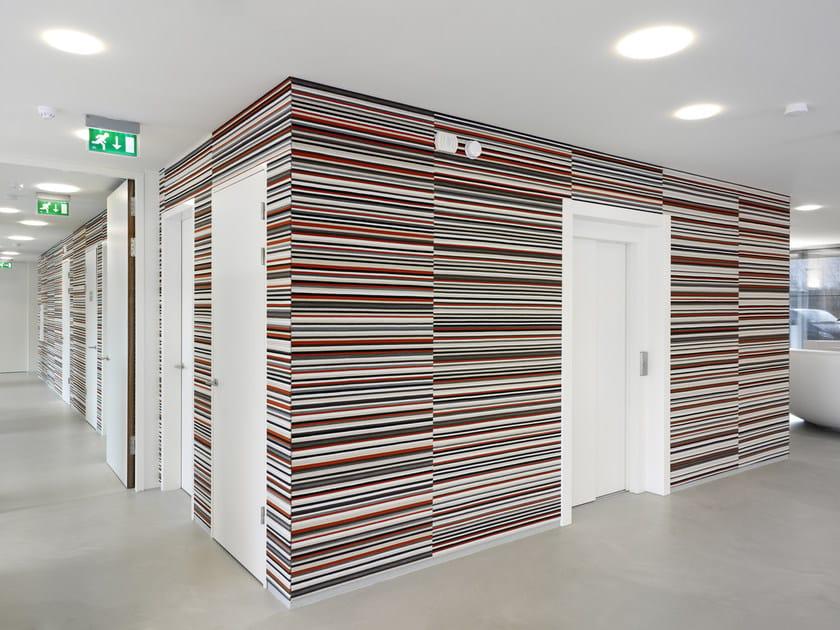 Sound absorbing wall tiles BUZZIBRICKBACK - BuzziSpace
