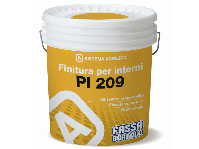 Breathable water-based paint PI 209 - FASSA