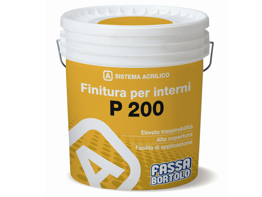 Breathable water-based paint P 200 - FASSA