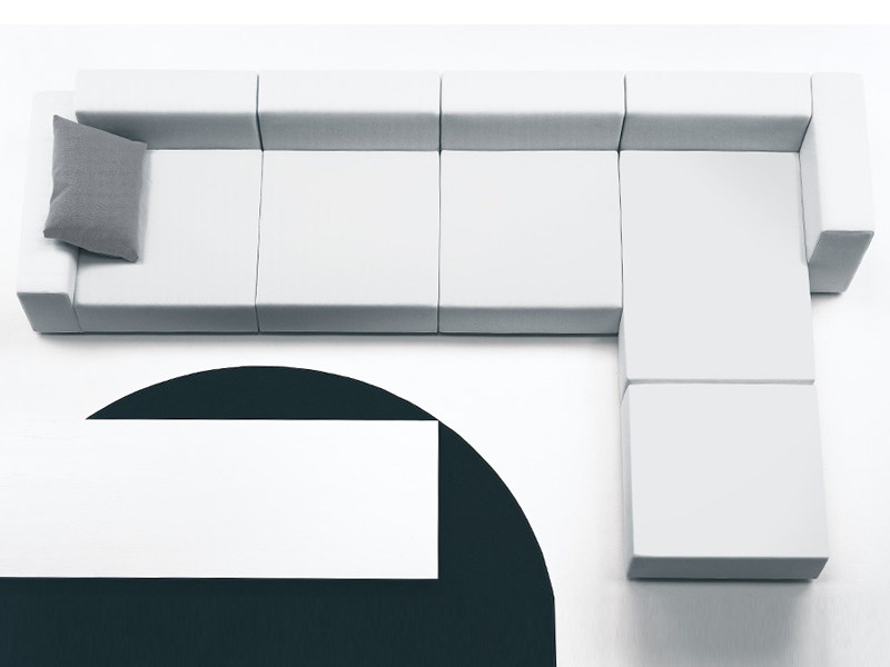 Sofa with removable cover WALL | Sofa by Living Divani