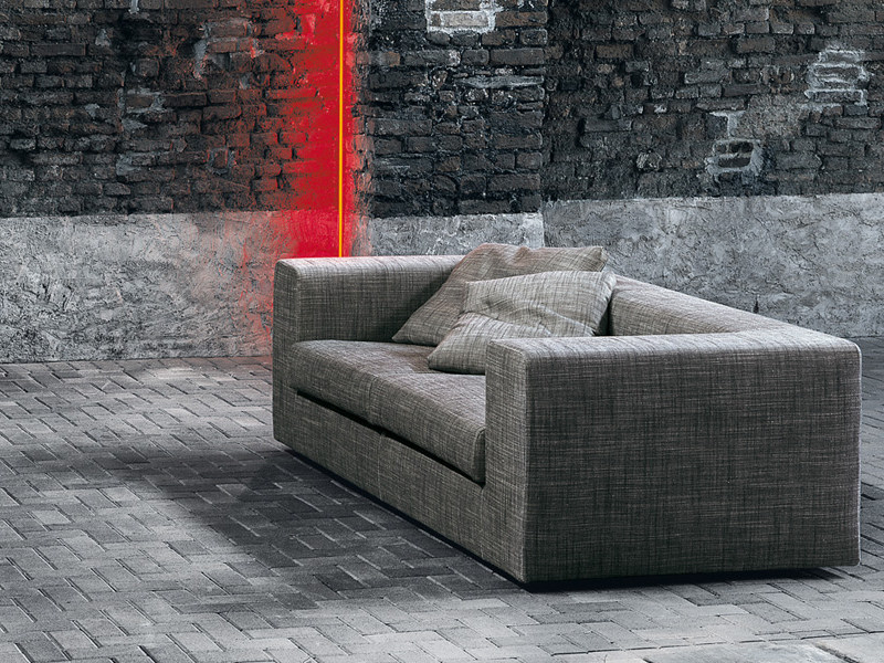Sofa bed with removable cover WALL | Sofa bed - Living Divani