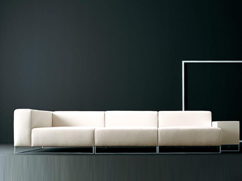 Leather sofa WALL2 | Sofa - Living Divani