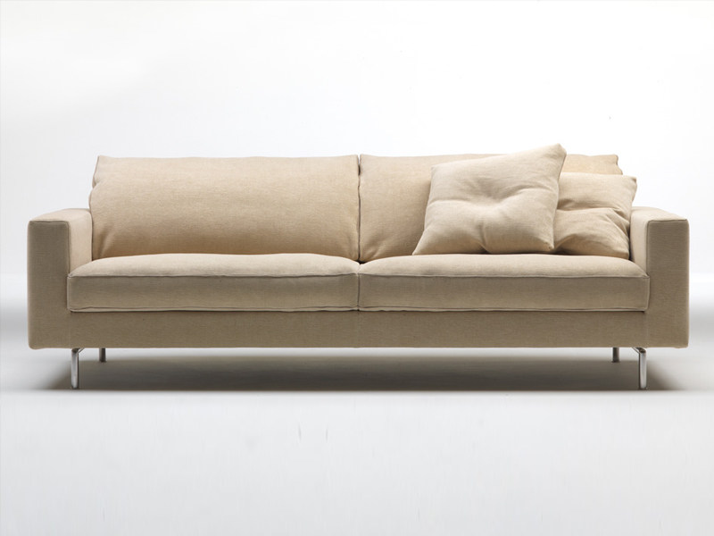 Fabric sofa with removable cover X - BOX - Living Divani