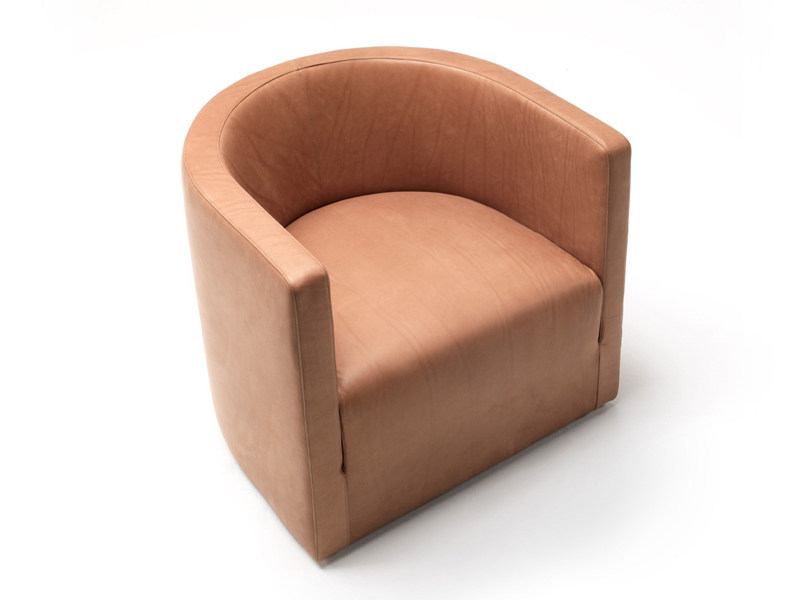 Leather armchair CONFIDENT by Living Divani